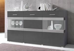 Sideboard Weiß Hochglanz 180 : sideboard breite 180 cm wohnzimmer ~ Bigdaddyawards.com Haus und Dekorationen