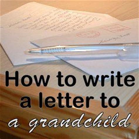 write  keepsake letter   grandchild