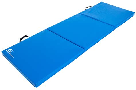 thick exercise mat prosource tri fold folding thick exercise mat 6 x2 for