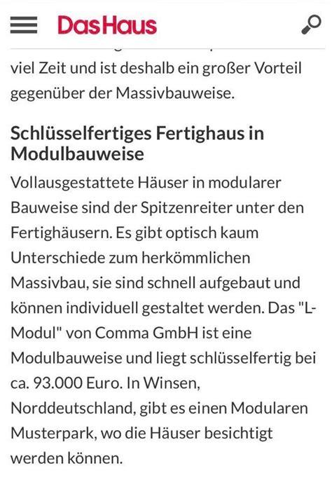 Fertighaus Unter 100 000 by 5 Schl 252 Sselfertige Fertigh 228 User Unter 100 000 Comma