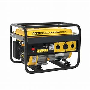 Champion Power Equipment 46596 3500/4000 Watt Generator