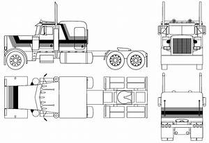 1967 Peterbilt 359 Heavy Truck Blueprints Free