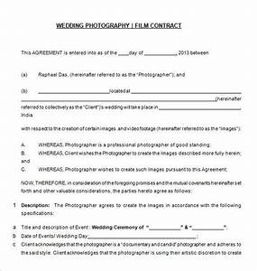 free download wedding photography contract templat 20 With basic wedding photography contract