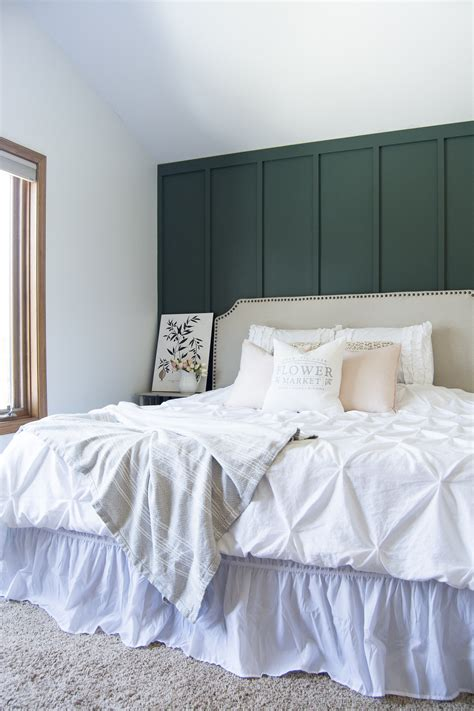 Master Bedroom Wall by Modern Farmhouse Bedroom Accent Wall Master Bedroom