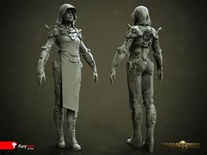 Exoskeleton suit(2) by Mihail Vasilev | Robotic/Cyborg ...