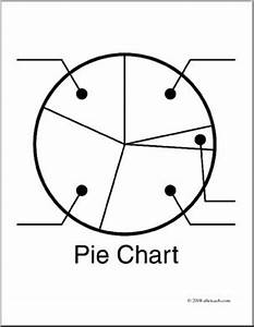 clip art graphing pie chart coloring page i abcteach With what is pie diagram