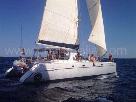 Catamaran Hire Barcelona by Skippered Catamaran Hire Ibiza Belize 43