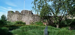 Monmouth Castle and Monmouth Town Wall | South Wales ...