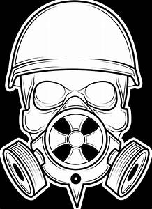 Cool Skull Gas Mask Drawings Www Pixshark Com Images Galleries With A Bite