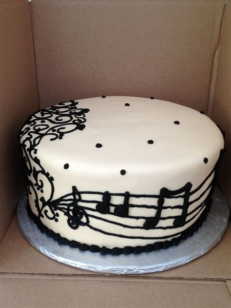 Pin Music Themed Cake Ideas And Designs