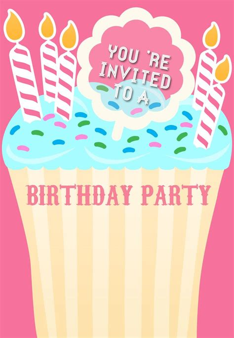 Birthday Invitation Template 73 Best Images About Birthday Invitations On