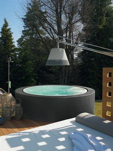 Whirlpool Garten Real by Runder Moderner Whirlpool Sauna Mini Pool Whirlpool