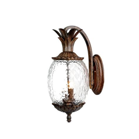 acclaim lighting 7502bc black coral 2 light 18 quot height
