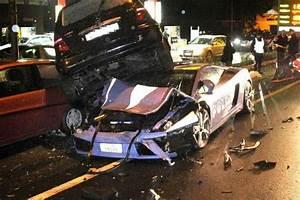Police Lamborghini crashed | Evo