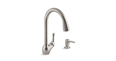 kohler touchless faucet barossa k r78035 sd barossa 174 touchless pull kitchen faucet