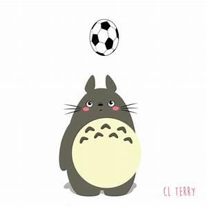 Cute Animated Totoro GIFs