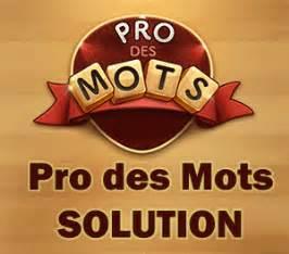 Pro Des Mots 318 : pro des mots solution ~ Gottalentnigeria.com Avis de Voitures