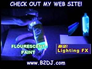 What glows with a Blacklight UV Are all blacklights the