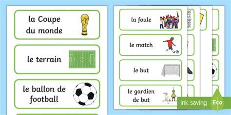 Carte Coupe Du Monde 2018 by New Cartes De Vocabulaire La Coupe Du Monde 2018