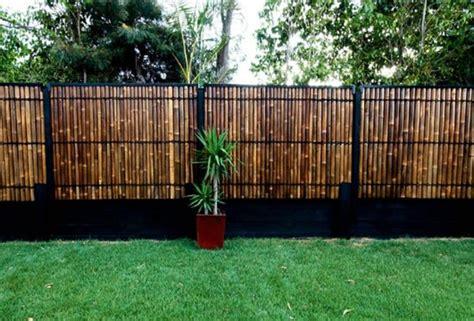 cloture en bambou id 233 e cl 244 ture jardin pour un ext 233 rieur pratique et esth 233 tique