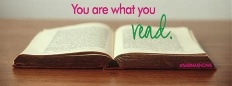 You Are What You Read Take Your Brain To The Spa  Sabina Knows