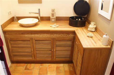 meuble cuisine persienne meuble vasque sur mesure en teck meuble vasque en bois