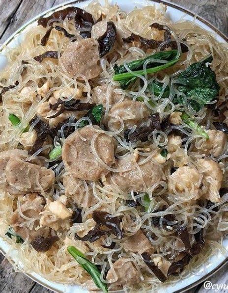 Walaupun banyak masakan udang lainnya seperti udang saus tiram, udang. Soun Goreng Jamur di 2020 | Resep masakan, Masakan, Resep makanan