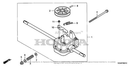 Honda Hrsk Sdaa Lawn Mower Usa Vin Mzbz