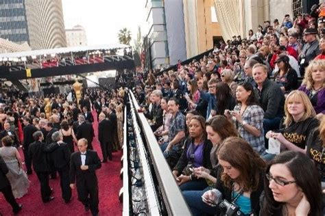 oscar lovers excited  red carpet seats sfgate
