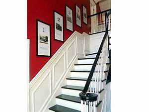 204 best deco couloirs et cages d39escaliers images on With superb idee couleur escalier bois 4 cage descalier 20 idees deco pour un bel escalier