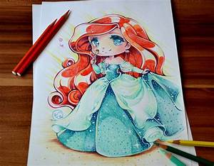 Chibi Princess Ariel by Lighane on DeviantArt