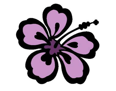 Dessin De Fleur Hawaïenne Colorie Par Artemise Le 25 De