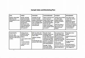 sales plan template 8 free word pdf documents downoad With sales and marketing plans templates