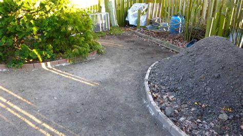 Anlegen Eines Stabilisierten Kiesweg Und Gartenweg Mit Den