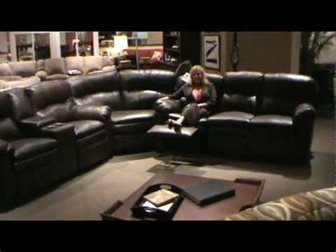 pc touchdown leather match reclining  piece sectional