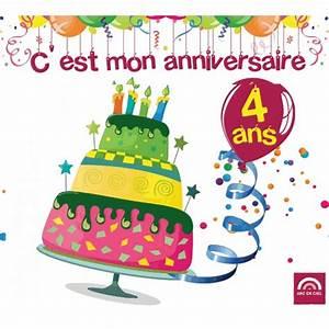 Image De Gateau D Anniversaire : image anniversaire 4 ans ~ Melissatoandfro.com Idées de Décoration
