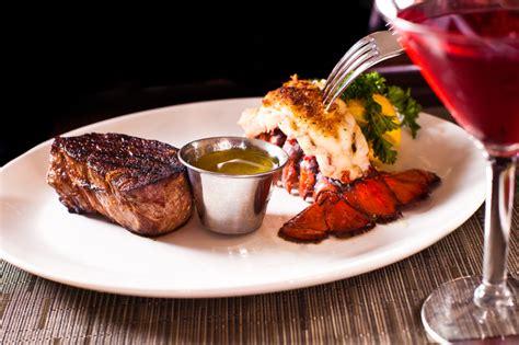 steak lobster shrimp surf turf dishes