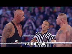 WWE Wrestlemania 30 The Undertaker vs Brock Lesnar Full ...