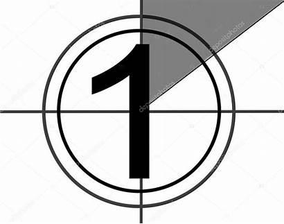 Countdown Film Depositphotos Stockafbeelding