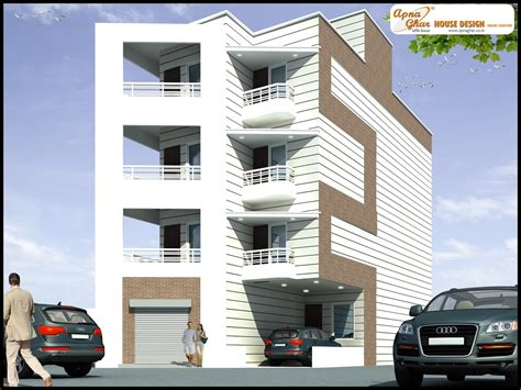 four floors of independent floor design apnaghar house design page 2