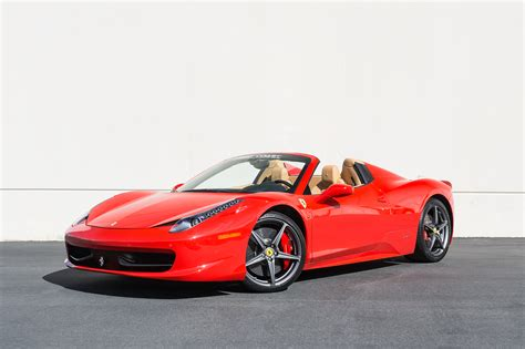 458 Italia Spyder by 2012 458 Italia Spider West Coast Cars