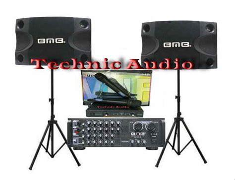jual paket sound system bmb karaoke murah di lapak technic