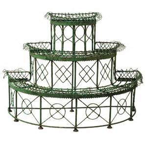 outdoor plant stands tiered modern patio outdoor