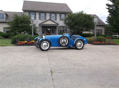 Parts for 1927 bugatti type 43a. 1927 Bugatti Type 35B Replica Kit Car for sale