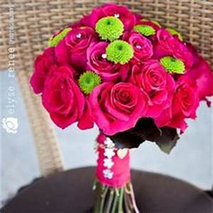 3 Hot Pink and Orange accented with lime green – Roses