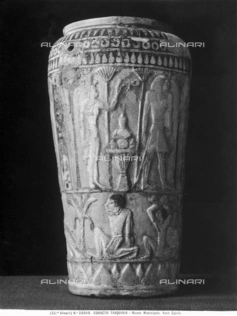 vaso egizio alinari