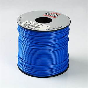 500ft Spool Of Blue 18 Gauge Awg Primary Wire Home