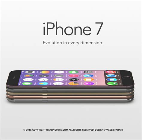 beautiful new apple iphone 7 beautiful new apple iphone 7 concept design specs images