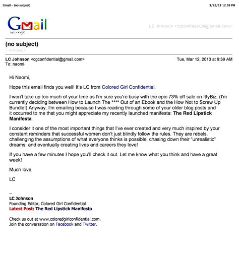 email format  professional business email format