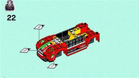 Building instructions for 75890, ferrari f40 competizione, lego® speed champions. Lego 60143 Lego Speed Champions 2015 Ferrari 458 Italia GT2 instructions, 75908 - YouTube